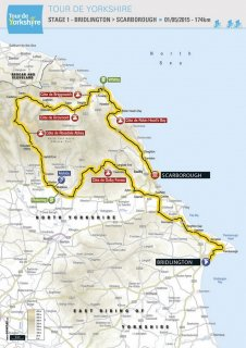 Tour de Yorkshire map: Welcome to Yorkshire